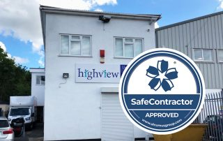 Highview Achieve Safecontractor Approval